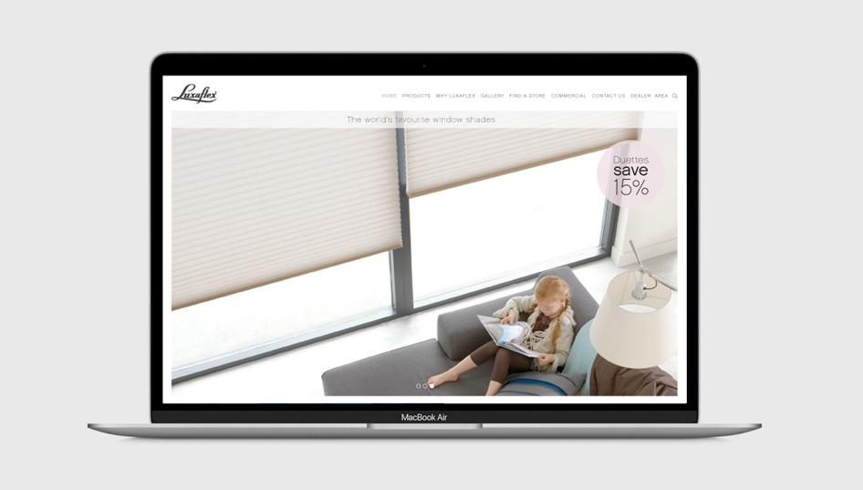 Luxaflex-website-design-Cover